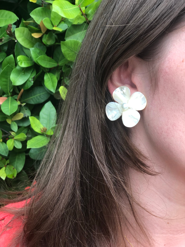 Polly Pearl on Pearl Earrings - The Kemble Shop