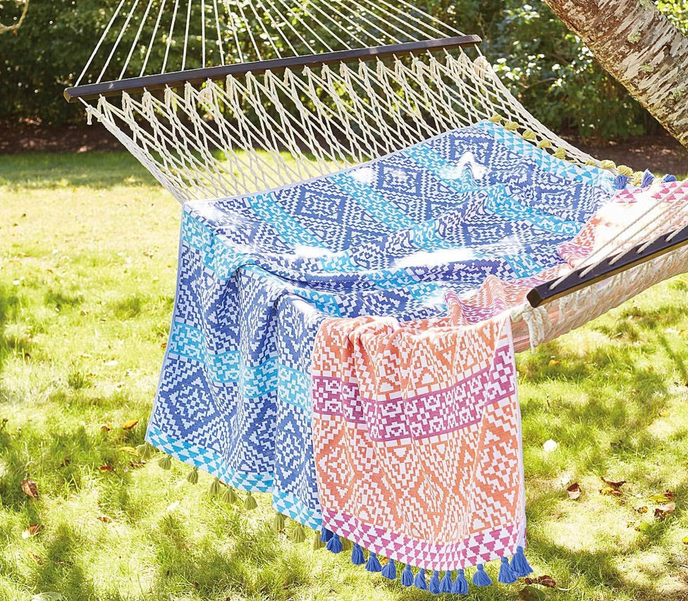 Summer Sun Tassel Beach Towels - The Kemble Shop