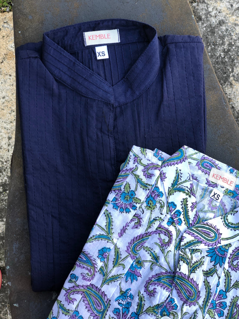 Purple Bliss Paisley Palm Beach Tunic - The Kemble Shop