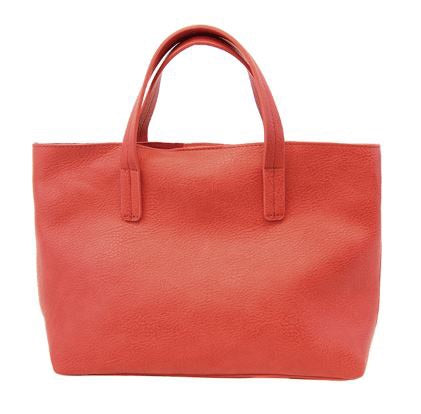 Red Medium Half Tote - The Kemble Shop