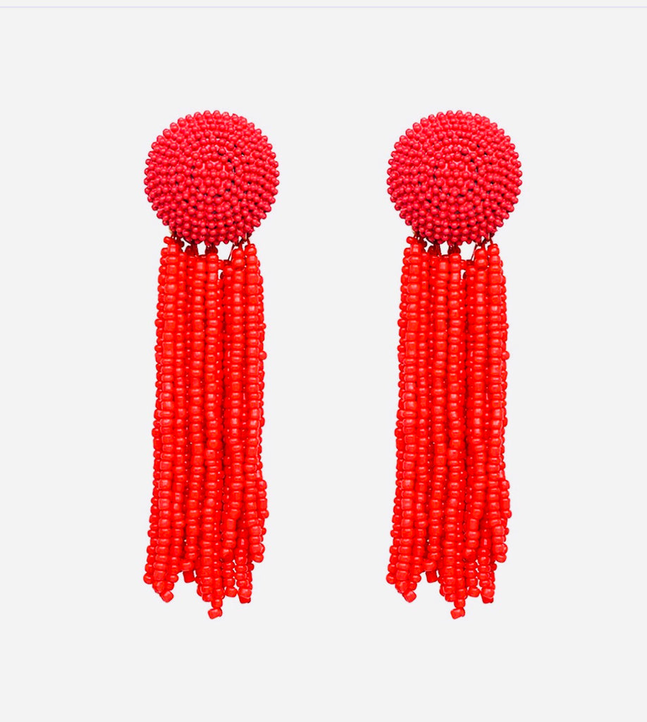 Beaded Sun Earrings - The Kemble Shop