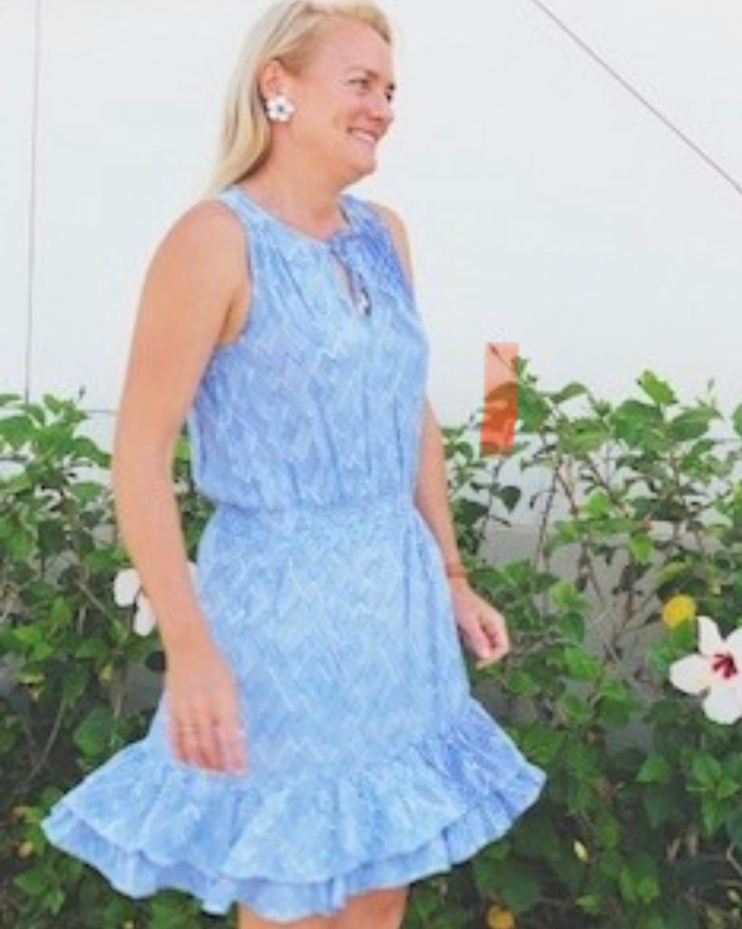 Periwinkle Kaylee Dress - Walker & Wade - The Kemble Shop