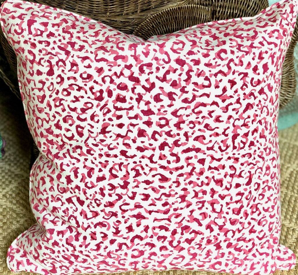 Peter Fasano Leopardo Outdoor Pillows- 23x23 - The Kemble Shop
