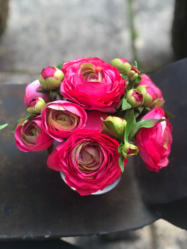 French Ranunculus & Peony Bud - The Kemble Shop