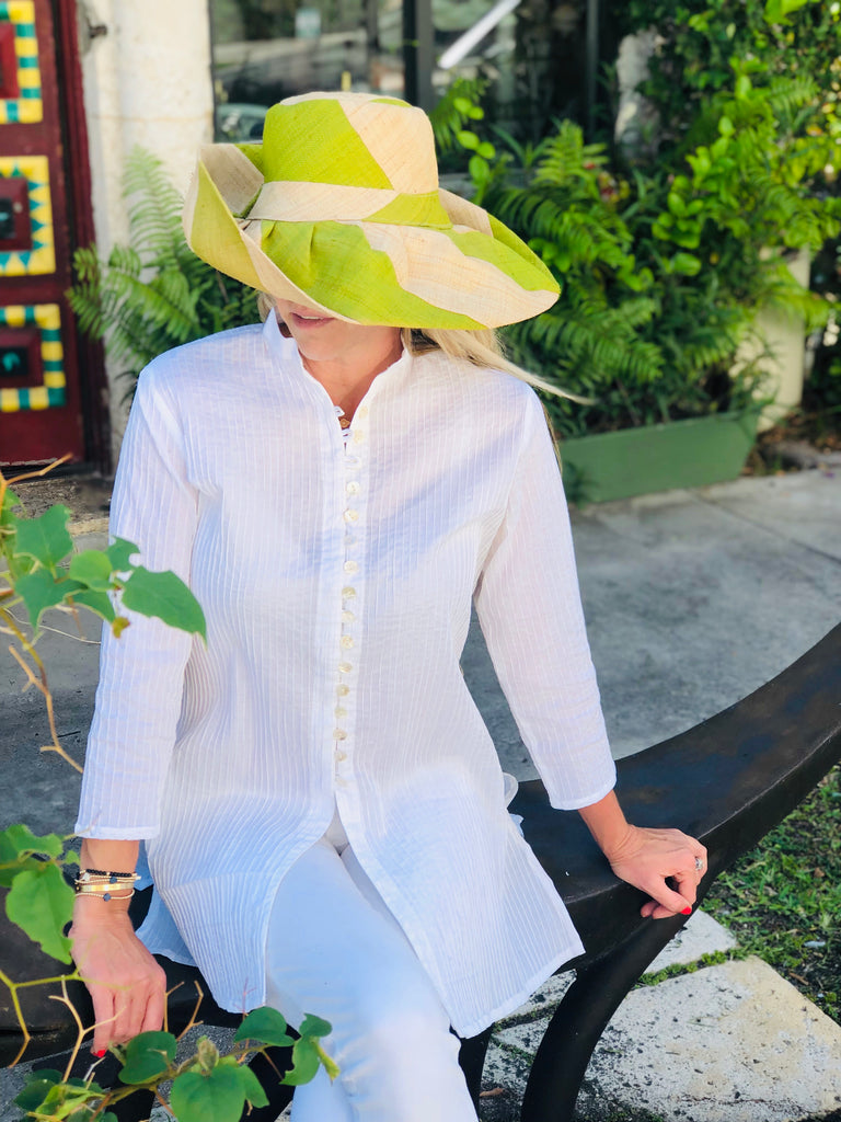 Classic White Palm Beach Tunic - thekembleshop-2