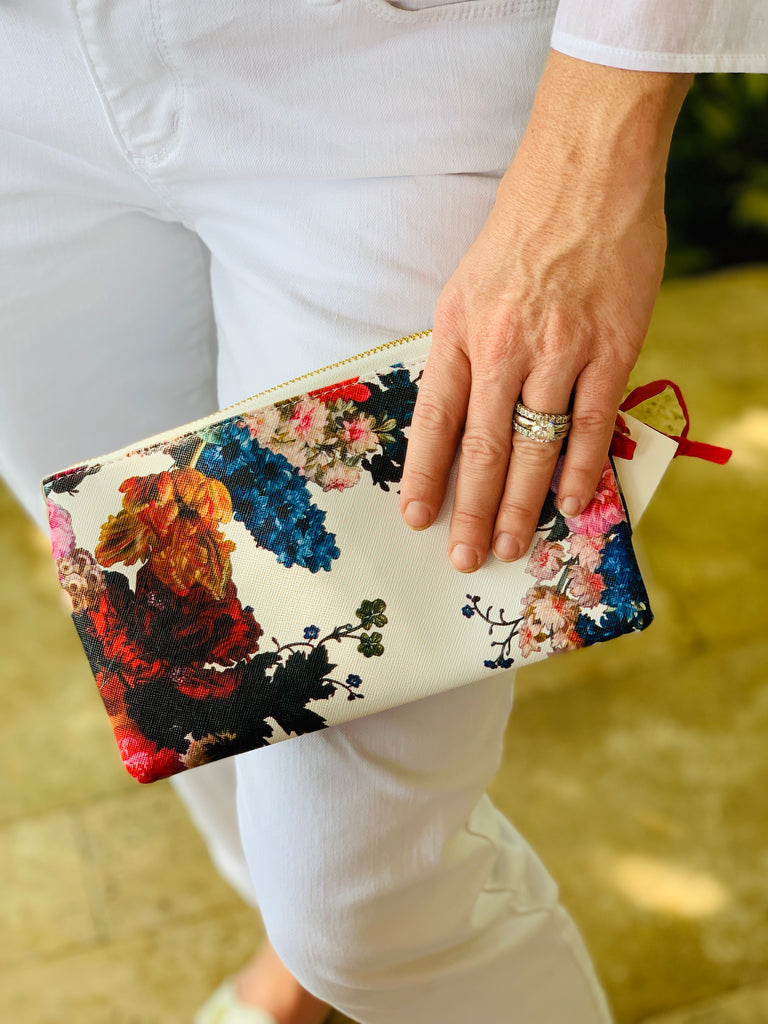 Small Floral Clutch - The Kemble Shop