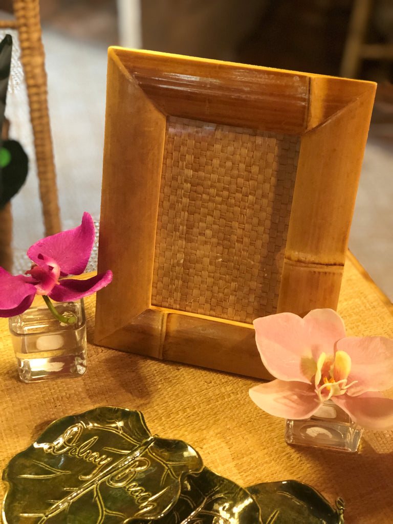 Golden Bamboo Frames - The Kemble Shop