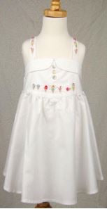 Girls Ice Cream Cone Dress - The Kemble Shop