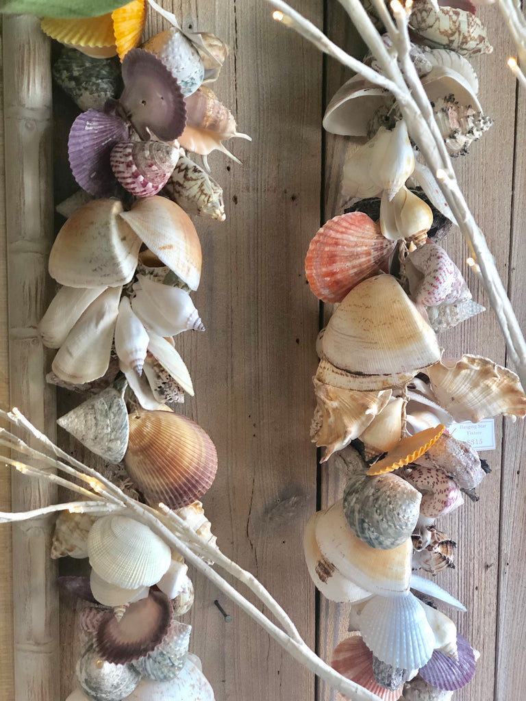 "56"" Shell Garland - The Kemble Shop"