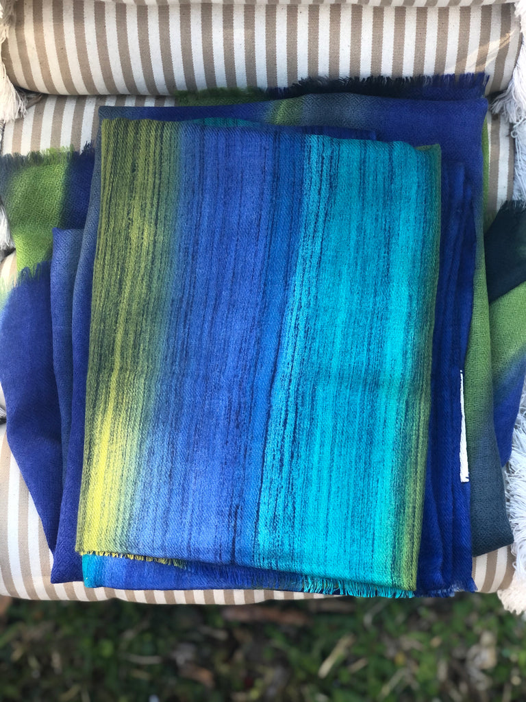 Blue Green Falls Scarf - The Kemble Shop