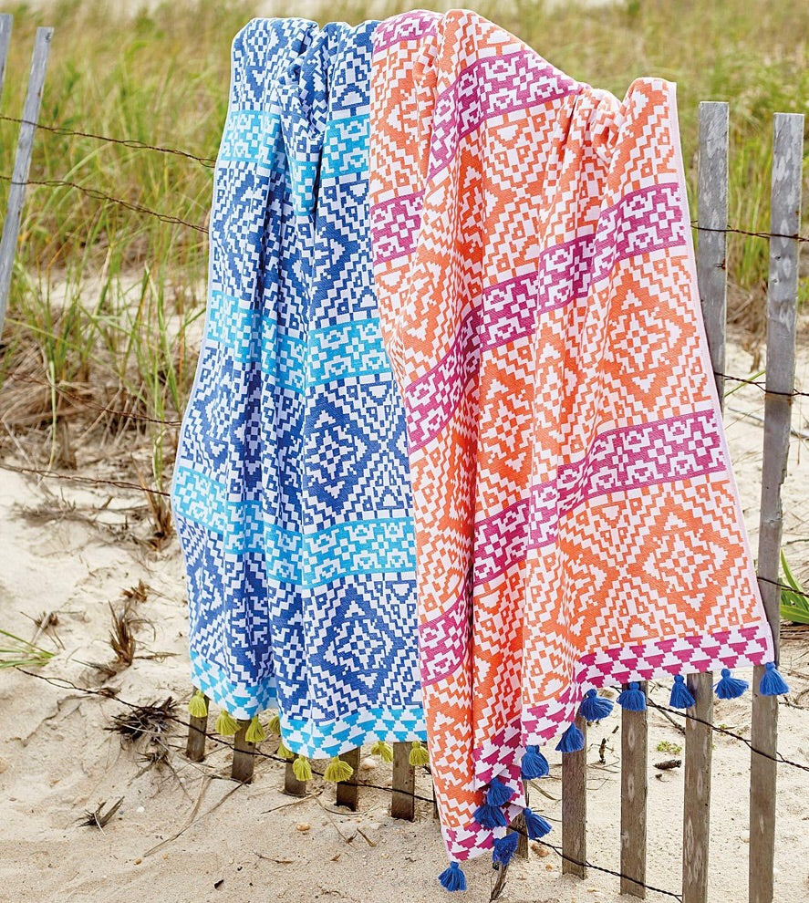 Summer Sun Tassel Beach Towels - thekembleshop-2