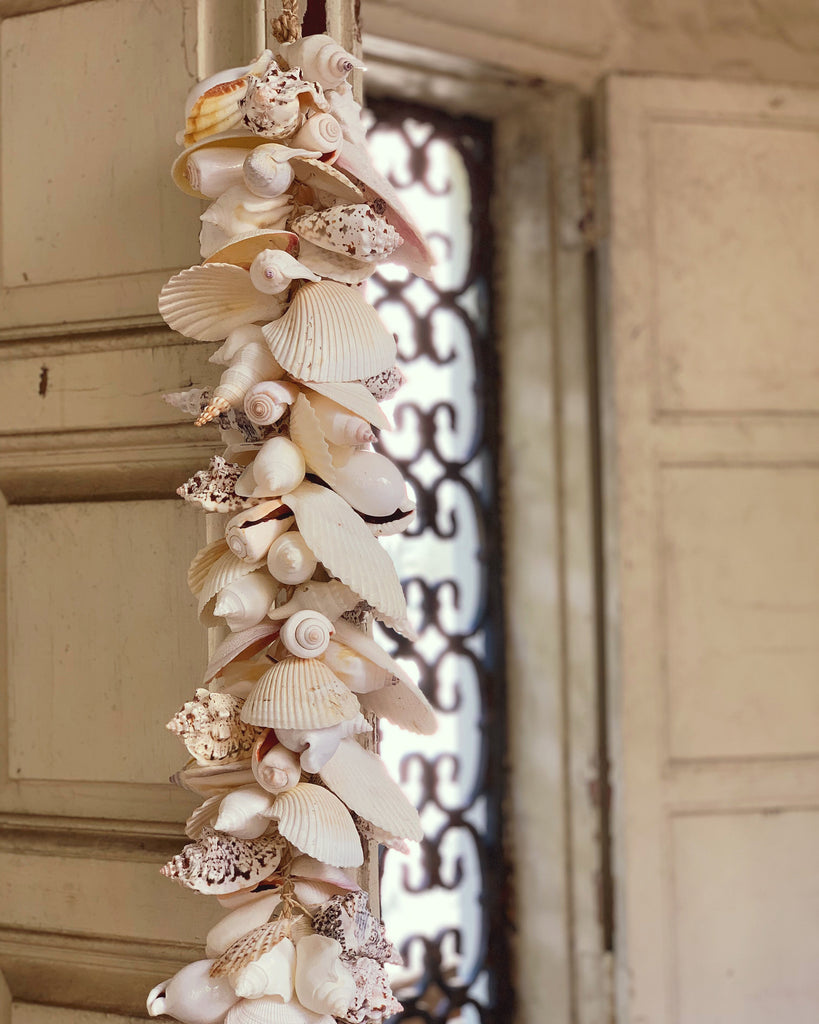 "72"" Shell Garland - The Kemble Shop"