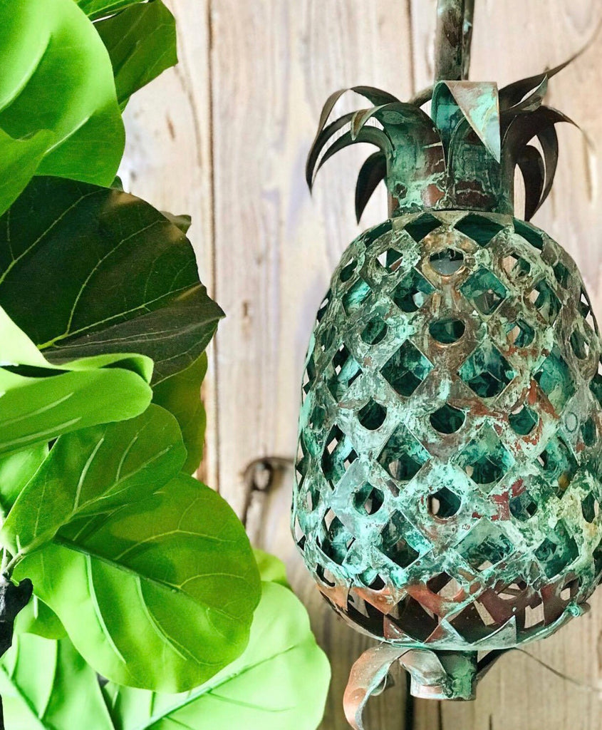 Copper Pineapple Wall Sconce - thekembleshop-2