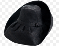 5 Black Palm Beach Classic Rattan Hat - The Kemble Shop