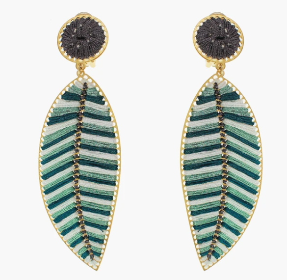 Boreal Leaf Earrings - Mercedes Salazar - The Kemble Shop