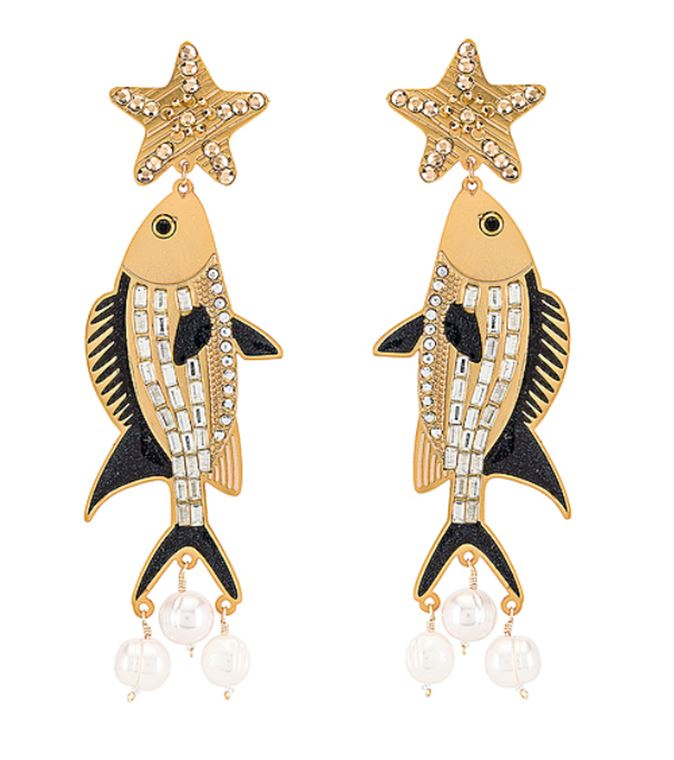 Isla Fish Earrings - The Kemble Shop