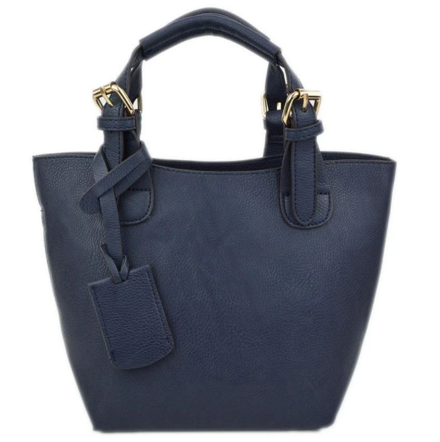 Baby Bucket Navy Tote - The Kemble Shop