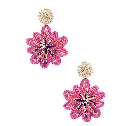 Pasionaria Flower Earrings - The Kemble Shop