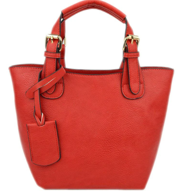 Baby Bucket Red Tote - The Kemble Shop