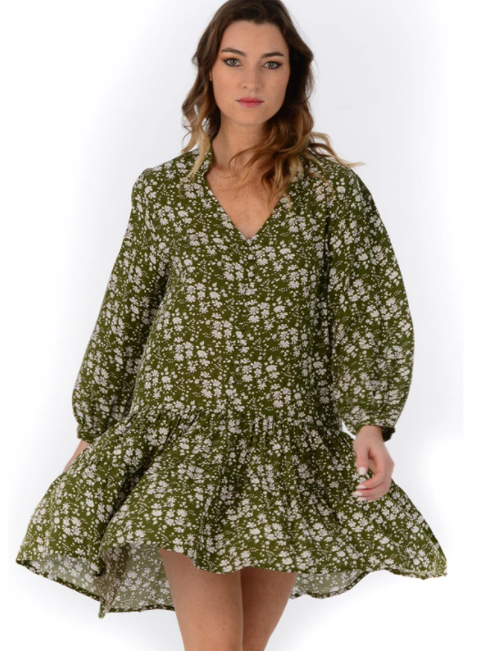 Sage Parker Dress - Walker & Wade - The Kemble Shop