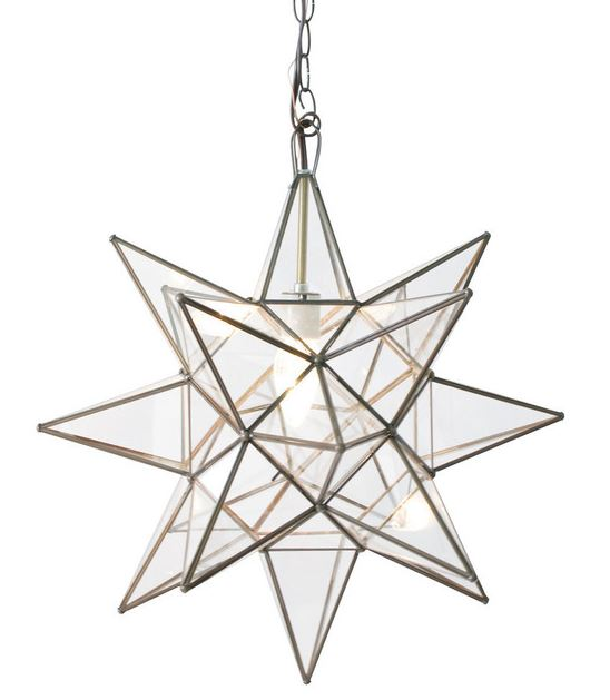 Star Hanging Light Fixture - The Kemble Shop