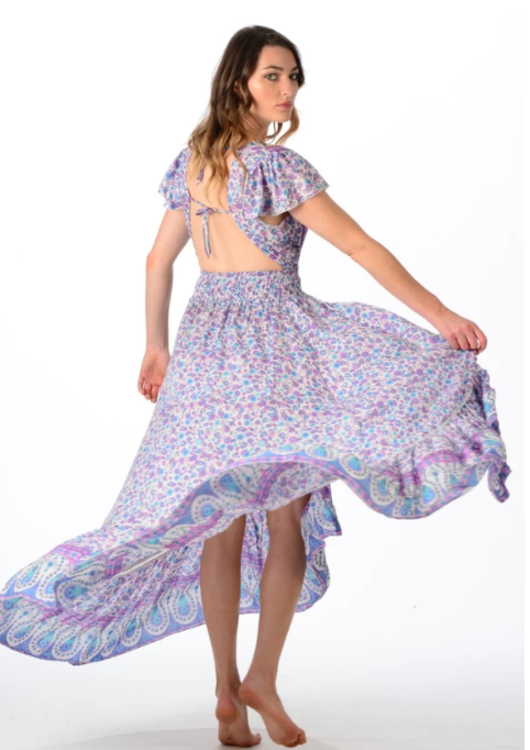 Lavender Valentina Dress - Walker & Wade - The Kemble Shop