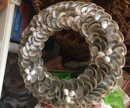 Shell Wreath - The Kemble Shop