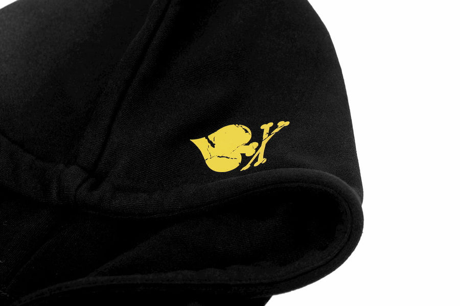 Hoodie with FRANKY Logo gold