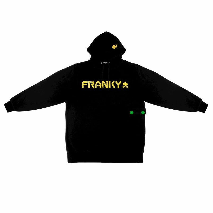 Hoodie with famous Cloak on back