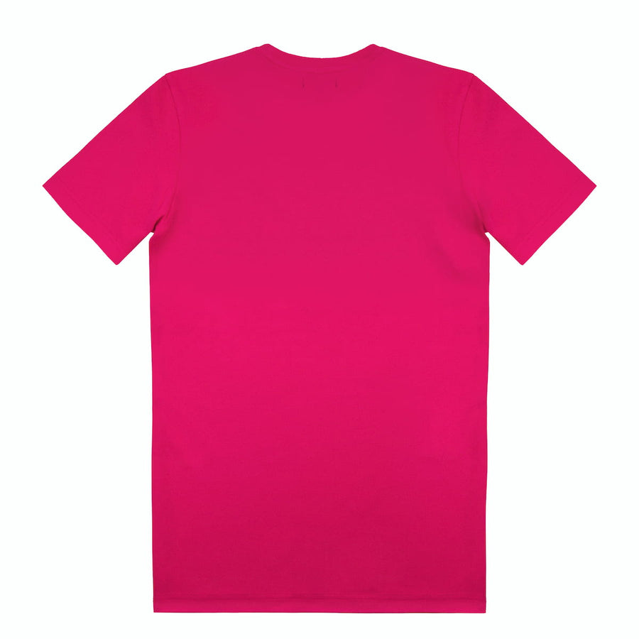 Extra long T-shirt with plain Logo