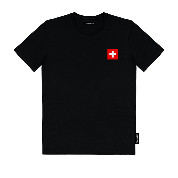 T-Shirt Swiss Skateboard National Team