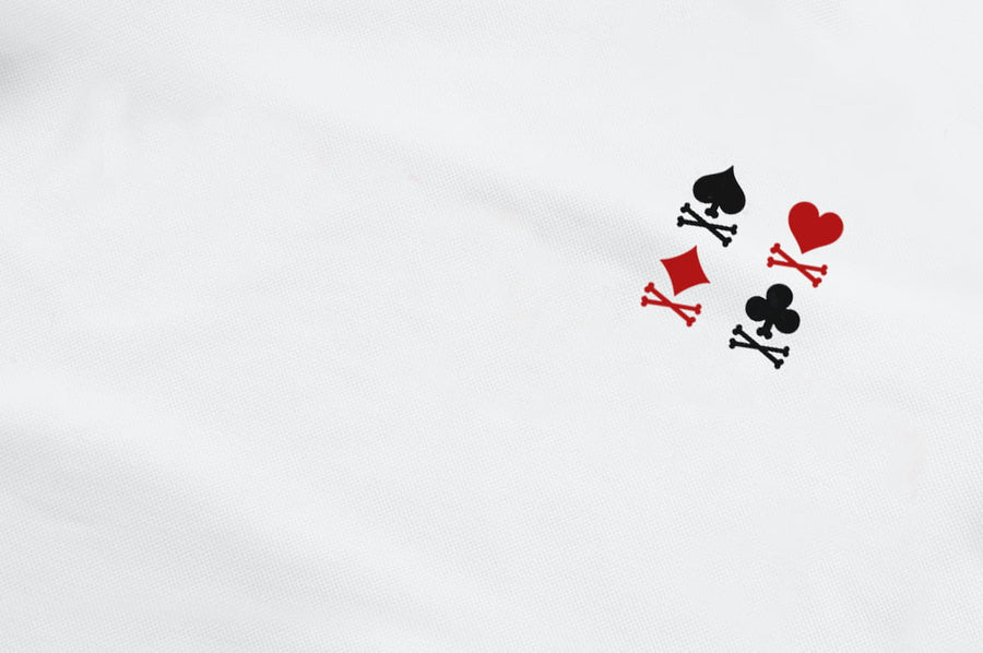T-Shirt long arm with Trump Cards