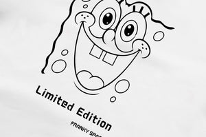 "T-Shirt long arm SpongeBob ""Limited Edition"" white"