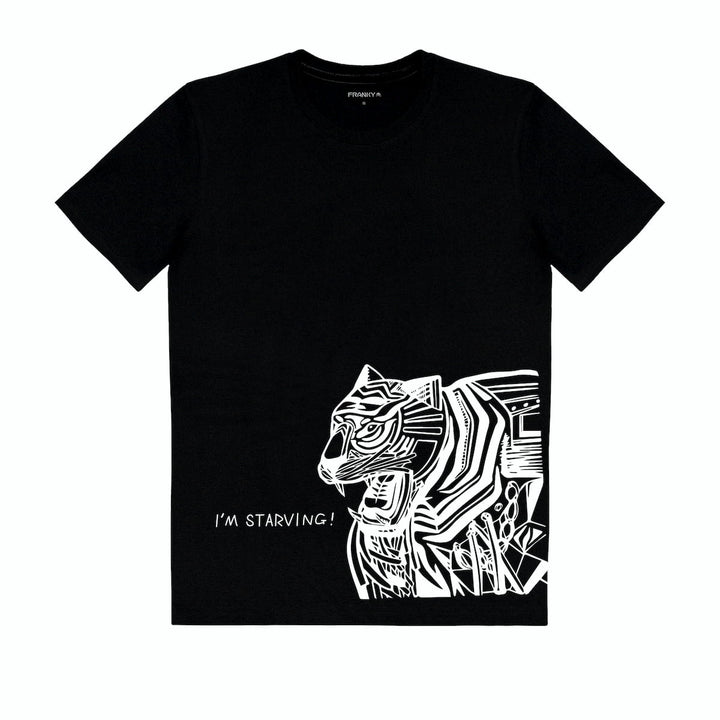 T-Shirt with Tiger