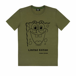 "T-Shirt SpongeBob ""Limited Edition"" military"