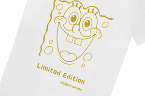 "T-Shirt SpongeBob ""Limited Edition"" white"