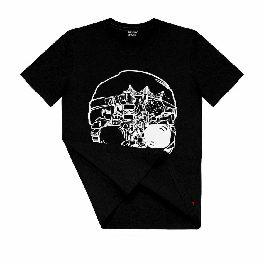 T-Shirt with Skull SKS16
