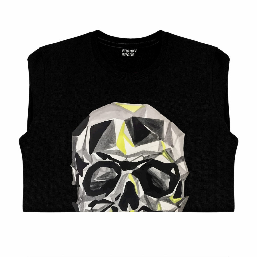T-Shirt long arm with Skull SKC3