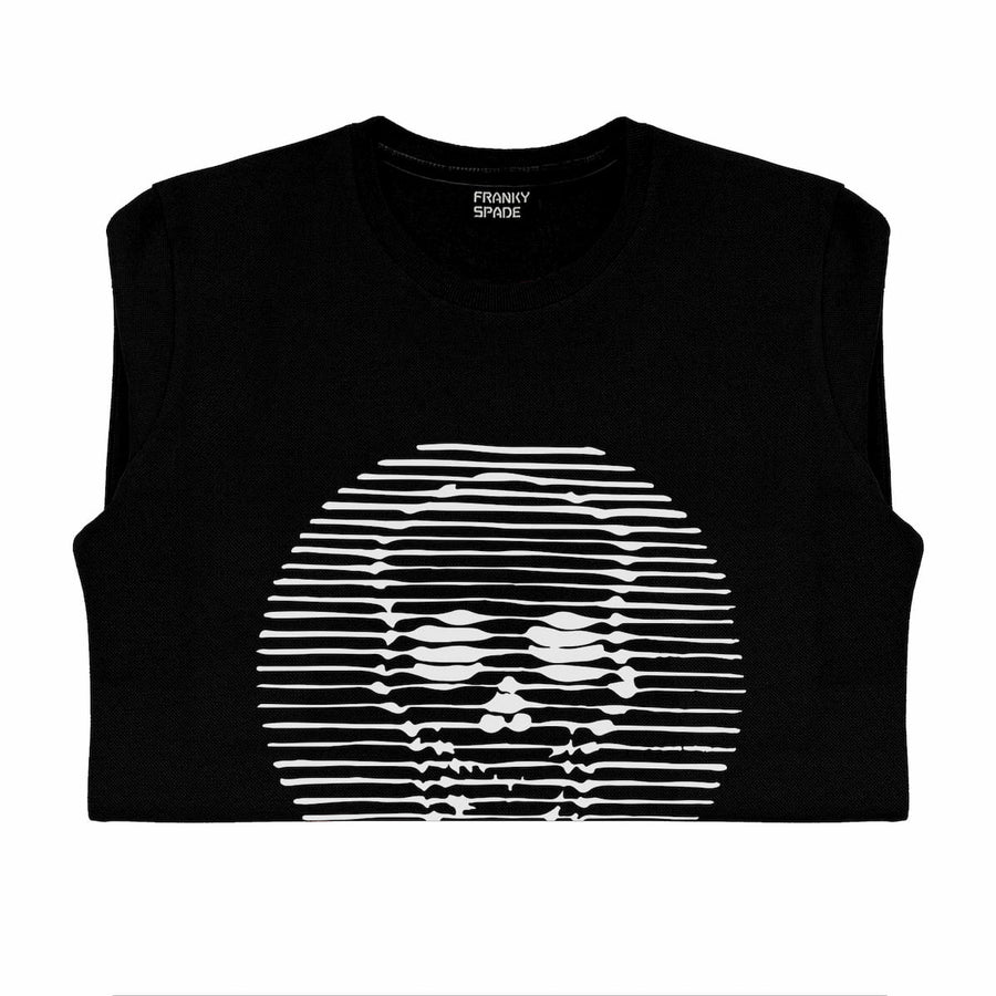 T-Shirt long arm with Skull SKS14