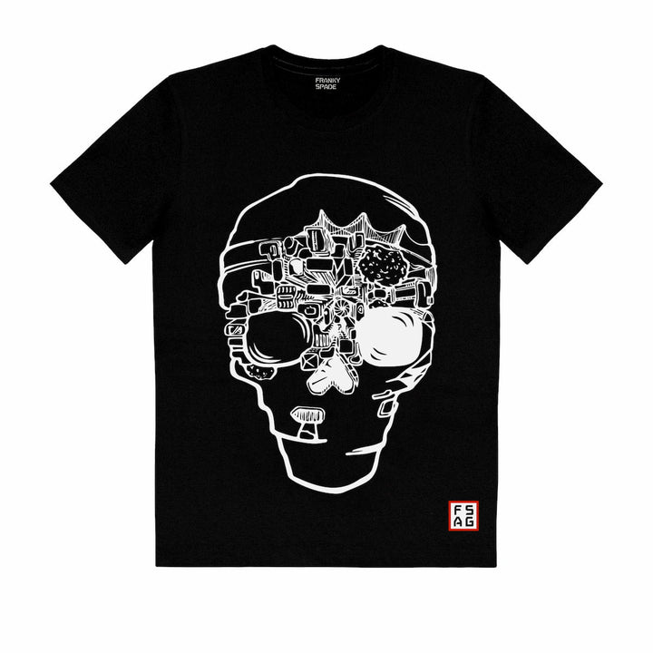 T-Shirt with Scull SKS16