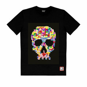 T-Shirt with Skull SKC2