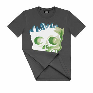 T-Shirt with Skull SKC1