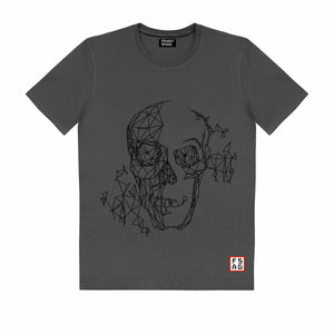T-Shirt with Skull SKS17
