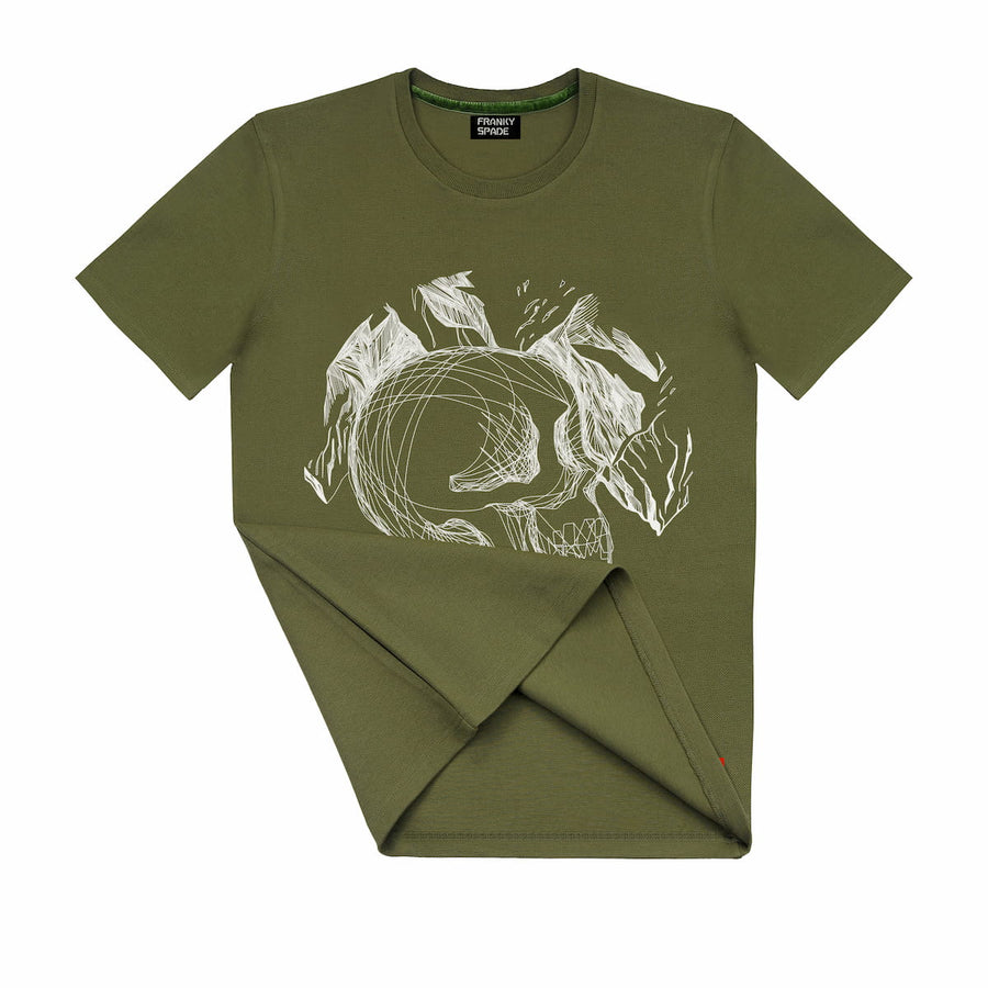 T-Shirt with Skull SKS15