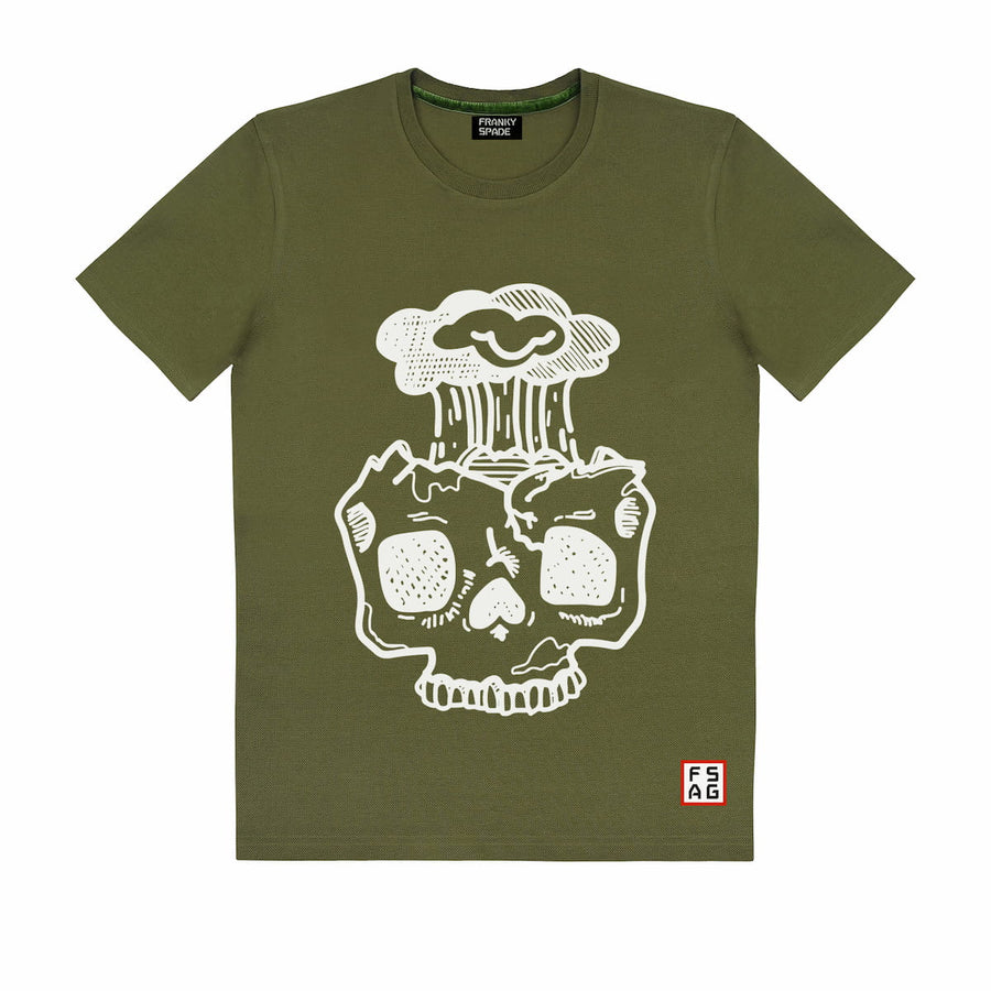 T-Shirt with Skull SKS12