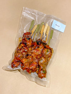 The Skewers (Fully Cooked + Frozen)
