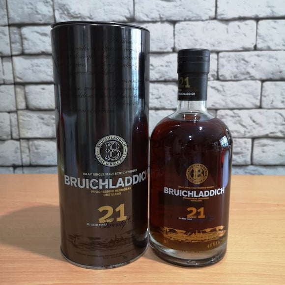 Bruichladdich 21 Years Old (Discontinued Bottle)