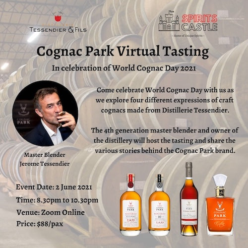 Cognac Park Virtual Tasting
