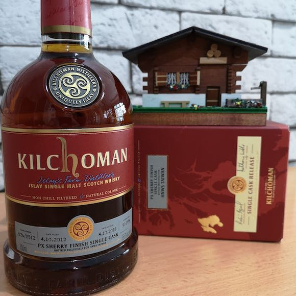 HNWS Kilchoman 2012 PX Sherry-Finish