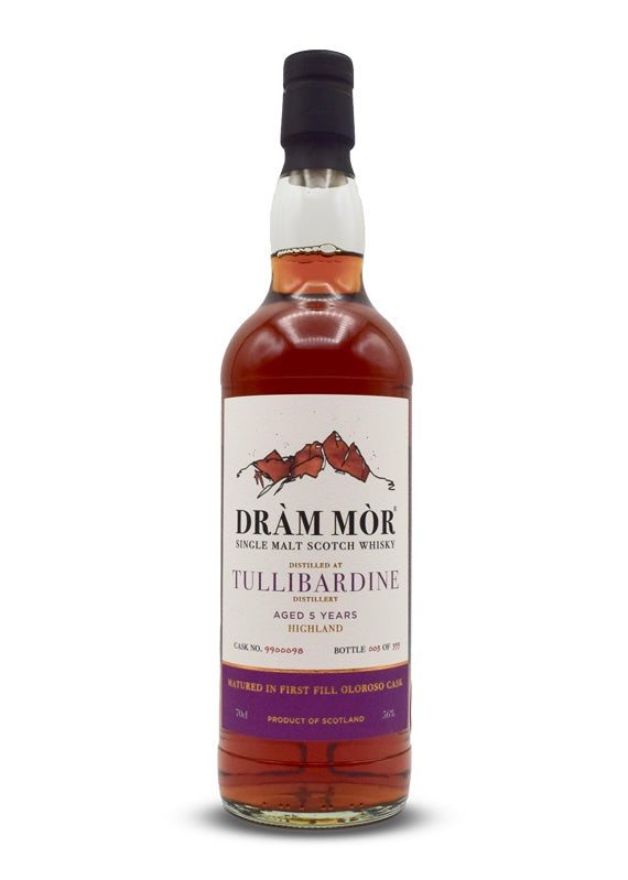 Dram Mor Tullibardine 2015 5 Years Old